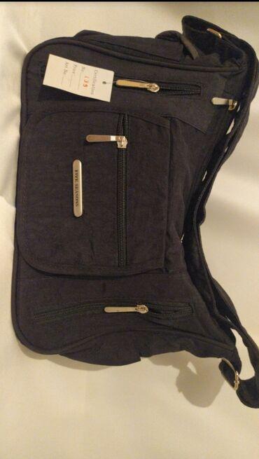 Qadınlar üçün poçtalyon çanta. Yenidir və əldədir. Metro yani