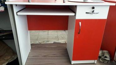 Bakı şəhərində Ofis stolu yenidi 100×60 sm olcu catdirilma var anbardan satiw