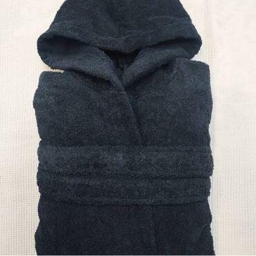 Махровый халат,покупали в постелькином. По размеру не подошёл, поэтому