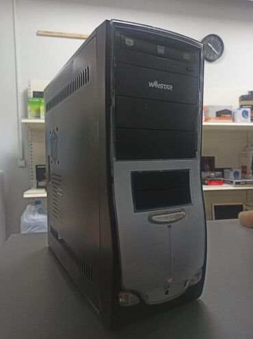 Системный блок двухядерный G41 775 GT440 1gb  500gb  4gb DDR3 400ват