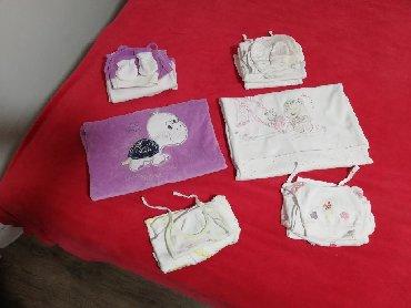 Dečija odeća i obuća - Razanj: Paket kompleta za novorodjenče sa 2 pokrivaca, 56 velicina