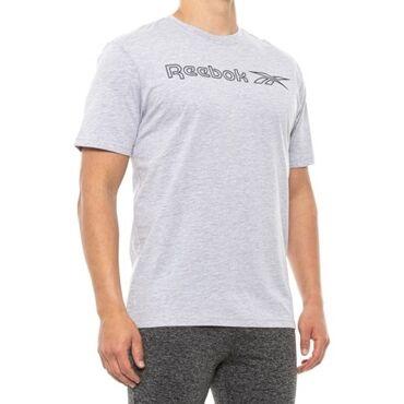 Мужская футболка ReebokVector Outline Graphic T-Shirt, 60% cotton