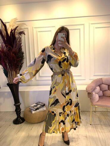Платья - Красный - Бишкек: Платье Свободного кроя XL
