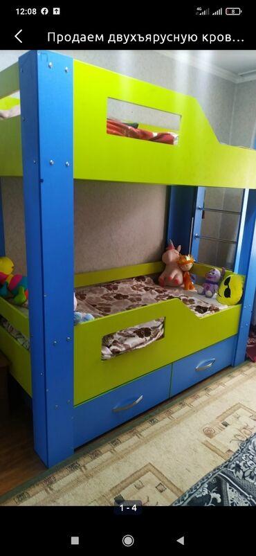 Детский мир - Кызыл-Суу: Куплю кровать детскую в караколе б/у
