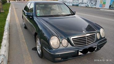 Mercedes-Benz Sumqayıtda: Mercedes-Benz E 270 2.7 l. 1999 | 275000 km