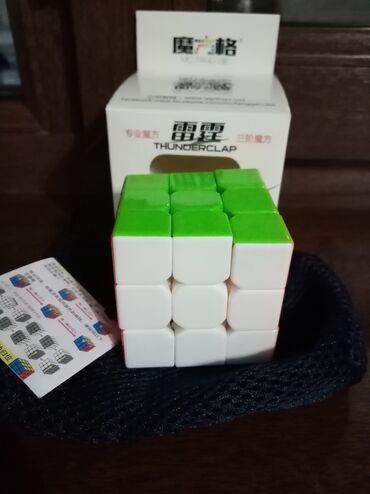 Продаю кубик рубика 3×3 mo fang ge thanderclab v1 состояние отличное п