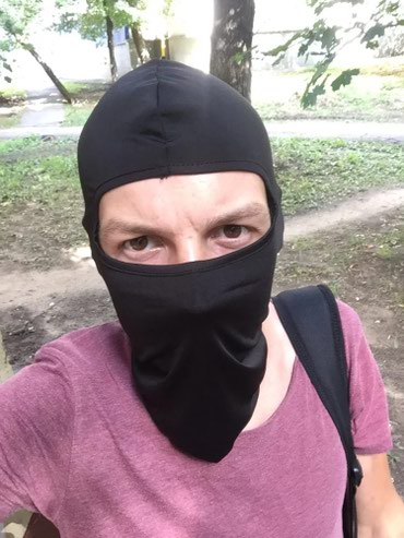 Bakı şəhərində Velosiped üçün termal maska terletmir həmdə isti saxlayır.