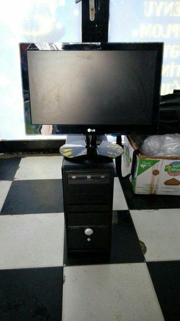 Bakı şəhərində core i5,ram 3gb,yaddash 500gb,video kart 1gb nivida,manitoru 20dm,ela