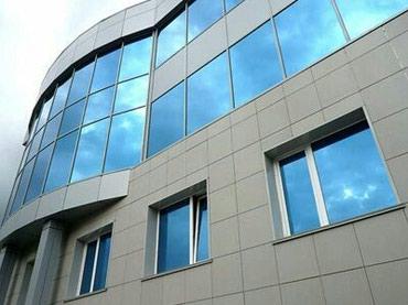 Фасады из алюминия тёплая холодная серия по доступным ценам в Бишкек
