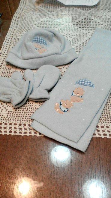 Za decu | Pancevo: Set za bebe. Boja kapa,šal i rukavice