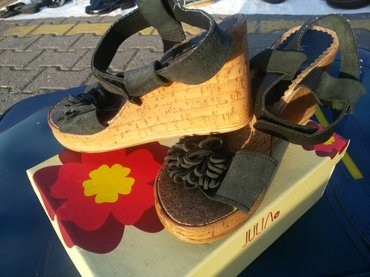 Ocuvane sandale sa plutom gornji deo koza br,38 in Novi Sad
