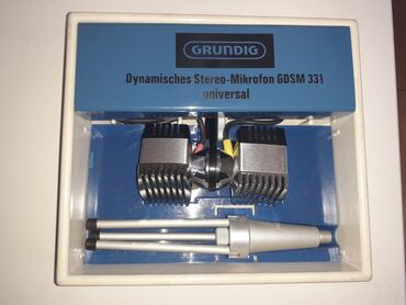 Grundig - Srbija: GRUNDIG GDSM 331 mikrofonDinamisches Stereo-Mikrofon GDSM 331
