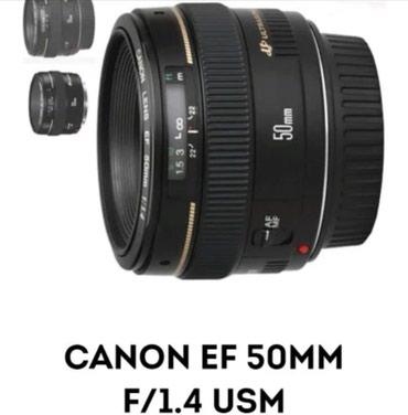 Qusar şəhərində Canon EF 50mm f1.4 USM
