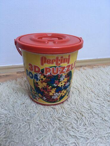 Pertini  3D puzzle  504 komada  Polovno, ocuvano