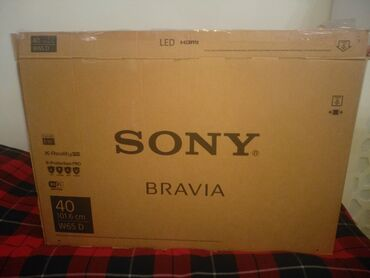 Televizorlar - Sony - Bakı: Телевизор Sony Bravia новый упаковыванный Led HDMI 40/101.6cm W65 D
