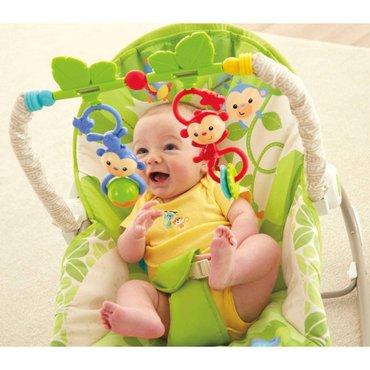 Stolica za bebe 3u1 ležaljka za ljuljanje ima sledeće funkcije. U - Beograd
