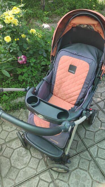 Коляски - Кыргызстан: Срочно ! Продается коляска в хорошем состоянии,есть чехол зимний для