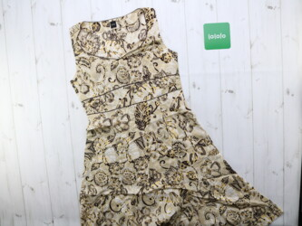 Летнее женское платье с принтом,Mosaic Длина:100 см Пог: 35 см Поб: 48