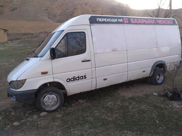 Mercedes-Benz - Цвет: Синий - Сокулук: Mercedes-Benz Sprinter 2.7 л. 2004 | 99600 км