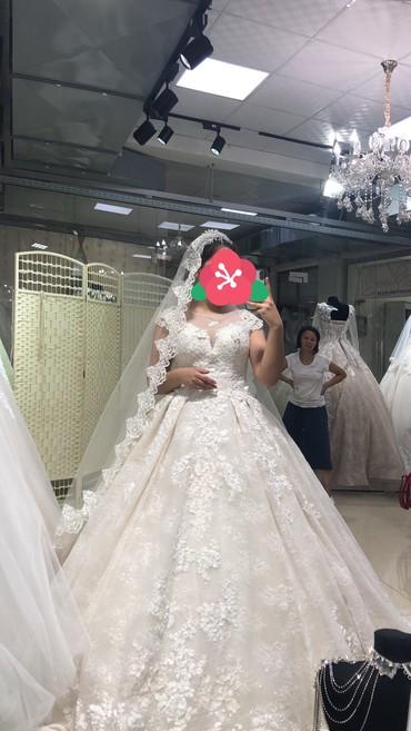 свадебное платье напрокат в Кыргызстан: Срочно продаю свадебное платье,уступка будет