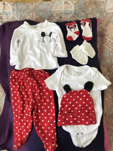 Bakı şəhərində Miniworld markası./%100.coton./Qız Bebek Paltarı..0-3 ay kız