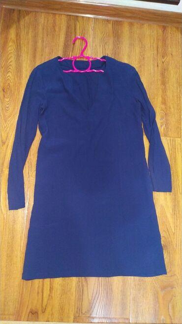 полосатая туника в Кыргызстан: Новое платье, туника, носить можно как угодноэто фирма h&mразмер