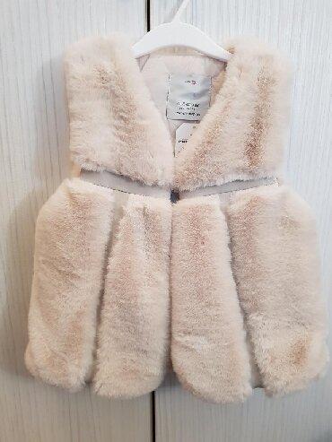 Dečije jakne i kaputi | Cuprija: Krzneni prsluk za devojcice. predivan i premekan. Velicine
