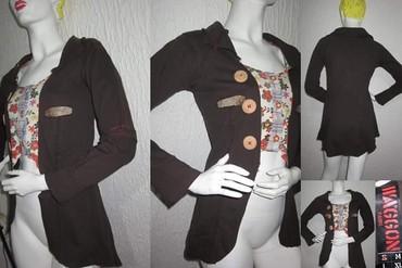 Vagonova jaknica originalna sa divnim detaljima - Novi Sad