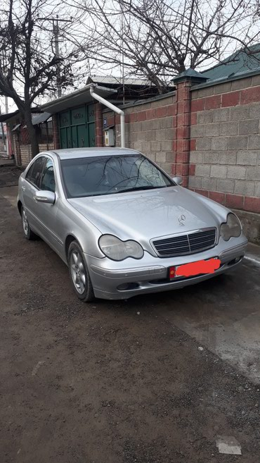 mercedes-benz-2-7-diesel в Кыргызстан: Mercedes-Benz C-Class 2.7 л. 2003