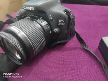 фотоаппарат canon 10 мегапикселей в Кыргызстан: Продаю фотоаппарат Canon 600 D в отличном состоянии в комплекте
