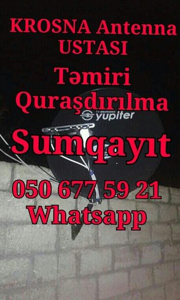 Sumqayıt şəhərində Krosna Satışı Təmiri Quraşdırılması
