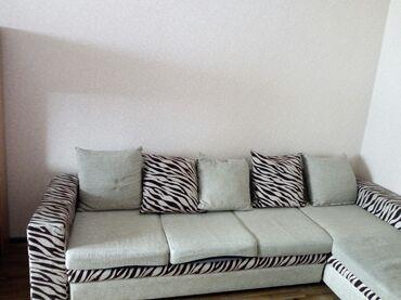 staryj divan sovetskij в Кыргызстан: Продается угловой выдвижной диван . Длина 2,90 х ширина 1,60