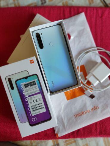 Электроника - Орловка: Xiaomi Redmi Note 8 | 32 ГБ | Голубой | Гарантия, Сенсорный, Отпечаток пальца