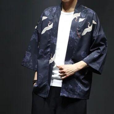 Мужские плащи в Душанбе: Эксклюзивные мужские японские кимоно!!!Высокого качества, модное
