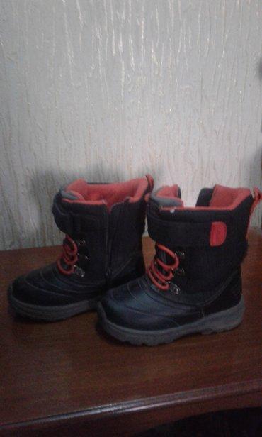 Обувь для мальчика б/у, Сапожки Картерс р.10 (р.23-24), ботинки Ошкош в Бишкек