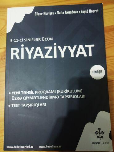 Riyazyyat hədəf Test kitabi Təzədi hec işlənmiyib