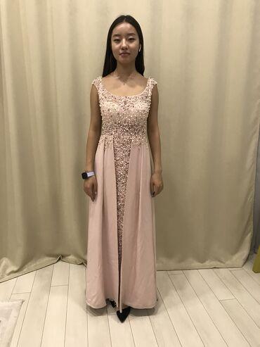 вечернее платье ручной работы в Кыргызстан: Продаю шикарное платье одевали 1 раз вышивка ручная работа страз