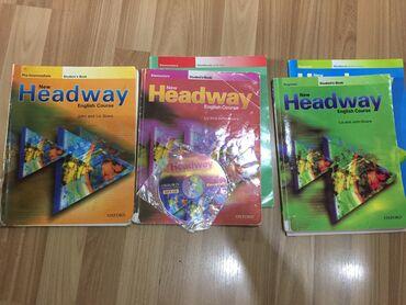 pocket book - Azərbaycan: Headway English course Student's book + CD 3 azn Workbooks 3 azn