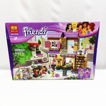 Конструктор девочке Friends - сказочный домик с полным