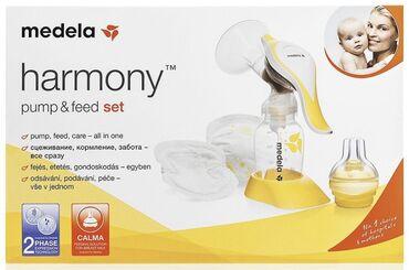 Medela Молокоотсос ручной Harmony Basic со смартсоской Calma и