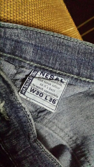 Dečje zenske pantalone, nošene, dužina 104cm, struk 64cm - Velika Plana - slika 3
