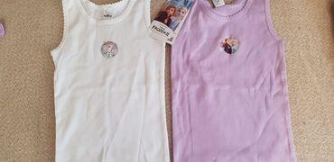 Aktivni ves - Pozarevac: Ves majice za devojcice,novo,prodaje se u paru,velicina 98-104