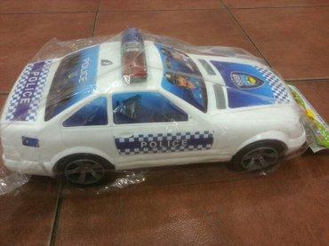 Xırdalan şəhərində Polis masini usaqlar ucun