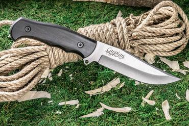 Охотничий нож Caspian D2 граб - Kizlyar SupremeНож Caspian, подобно