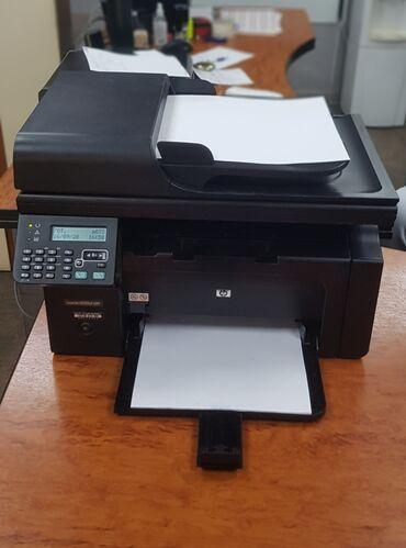 сканер баркода в Кыргызстан: Продаётся принтер МФУ HP LaserJet Pro M1212nf MFP Б/УОбщие