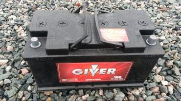 Продаю аккумулятор бу в отличном рабочем состоянии 100Ah 800A в Бишкек