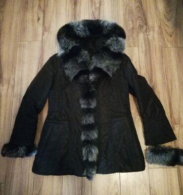 Ski rukavice - Srbija: Exclusive Vatane Internationale jakna/mantil, sa pravim krznom na