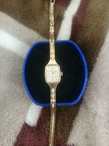 Личные вещи - Сокулук: Женские часы Чайка советских времен 17камней оригинал СССР,работают