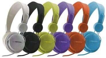 Elektronika - Ivanjica: ESPERANZA EH148B - STEREO SLUŠALICE-Visoko kvalitetne slušalice