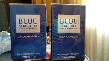 Туалетная вода Blue seduction Antonio Banderas 100мл в Бишкек